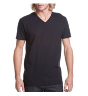 Custom Next Level Men�s Premium Fitted Cotton Short-Sleeve V-Neck Tee