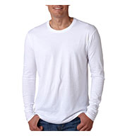 Custom Next Level Mens Long-Sleeve Cotton Crew