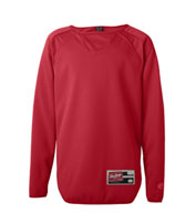 Custom Rawlings Youth Long Sleeve Fleece Pullover