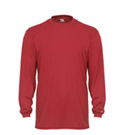 Custom Badger Youth Core Long Sleeve Performance T-shirt