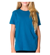 Custom American Apparel Organic Youth Fine Jersey T-Shirt