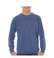 Custom Youth Pigment Dyed 6.1 oz. Long Sleeve Tshirt