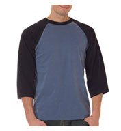 Custom Adult Raglan Sleeve Pigment Dyed Tee
