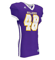 Custom Russell Adult Compression Color Block Game Jersey Mens