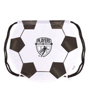 Custom Soccer Ball Drawstring Backpack
