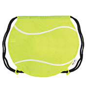 Custom Tennis Ball Drawstring Backpack