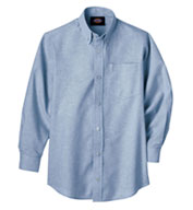 Custom Boys Long Sleeve Oxford Shirt by Dickies