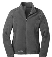 Custom Eddie Bauer® Ladies Full-Zip Fleece Jacket