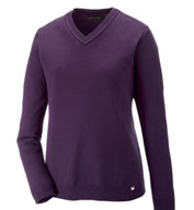 Custom Merton Ladies Soft Touch V-Neck Sweater