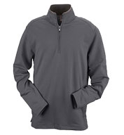 Custom Mens Ashworth French Terry Half-Zip Pullover