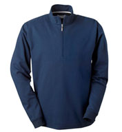 Custom Ashworth Men�s Micro Brushed Half-Zip Jacket