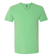 Custom Next Level Mens CVC V-Neck Tee