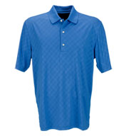 Custom Greg Norman Adult Play Dry Diamond Embossed Polo Mens