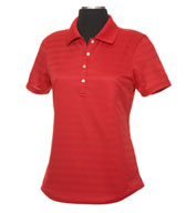Custom Callaway Ladies Textured Performance Polo