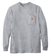 Custom Carhartt Men�s Long Sleeve Workwear Pocket T-Shirt