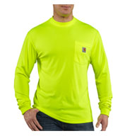 Custom Carhartt Mens Force� Color Enhanced HI Visibility T-Shirt