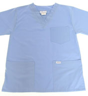 Custom V-neck Scrub Top by Spectrum Uniforms