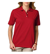 Custom Ladies Short Sleeve Superblend Polo