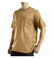 Custom Dickies Mens Moisture Wicking Short Sleeve Pocket T-Shirt