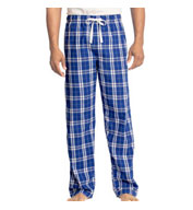 Custom Young Mens Flannel Plaid Pant by District
