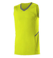 Custom Alleson Adult Bounce Basketball Jersey Mens