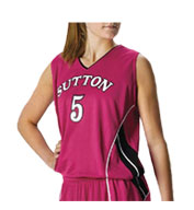 Custom Alleson Girls Basketball Jersey