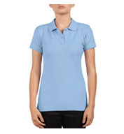 Custom Dickies Juniors Short Sleeve Pique Polo