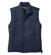 Custom Harriton Mens Polyfill Vest