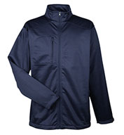Custom Adult Water Resistant Soft Shell Jacket Mens