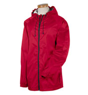 Custom Mens Waterproof and Packable, Nylon Rip-Stop Rain Jacket Mens