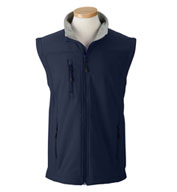 Custom Mens Wind and Water Resistant Soft Shell Vest Mens