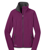 Custom Eddie Bauer® Ladies Vertical Fleece Full Zip Jacket
