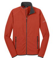 Custom Eddie Bauer® Mens Vertical Fleece Full Zip Jacket