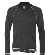 Custom Alternative Apparel Eco Cashmere Baseball �Sweatshirt Jacket�