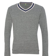 Custom Alternative Apparel Eco Cashmere V-Neck Sweatshirt