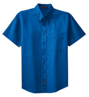 Custom Mens Tall Easy Care, Wrinkle Resistant Short Sleeve Shirts