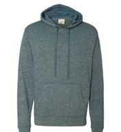 Custom Vintage Marled Heathered French Terry Hoodie