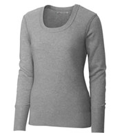 Custom Ladies Broadview Scoop Neck Sweater