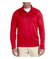 Custom Mens Sretch Quarter-Zip Tech-Shell� Mens