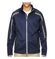 Custom Mens Color-Block Fleece Jacket Mens