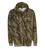 Custom Realtree® Hooded Full-Zip Sweatshirt
