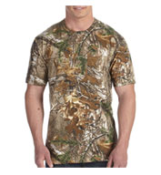 Custom RealTree® Camouflage Pocket T-Shirt by Code V Mens