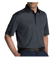 Custom Greg Norman Fort Mason Jacquard Polo Mens
