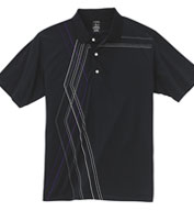 Custom Page and Tuttle Mens Diamond Argyle Print Polo