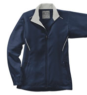 Custom Page and Tuttle Ladies Free Swing� Wind Jacket