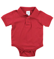 Custom Infant Polo Onesie