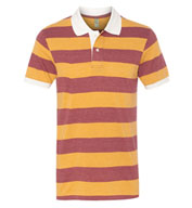 Custom Alternative Mens Stripe Polo