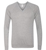 Custom Unisex V-Neck Lightweight Sweater