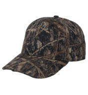 Custom Structured Camo Cap with Panther Vision Lighting