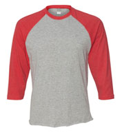Custom Crowd Funding Raglan Baseball T-Shirt Mens